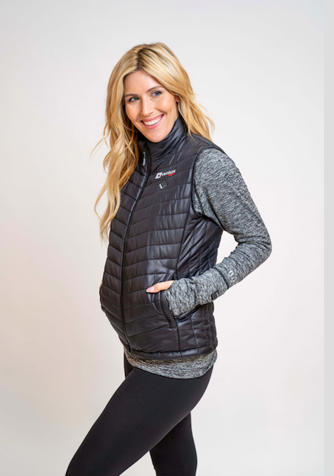 Load image into Gallery viewer, Women's Tri-Zone Insulated Heated Puffer Vest - Roam 2.0 - Black