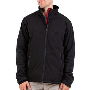 Battery Heated Soft Shell Jacket 5V (Black) - FINAL SALE