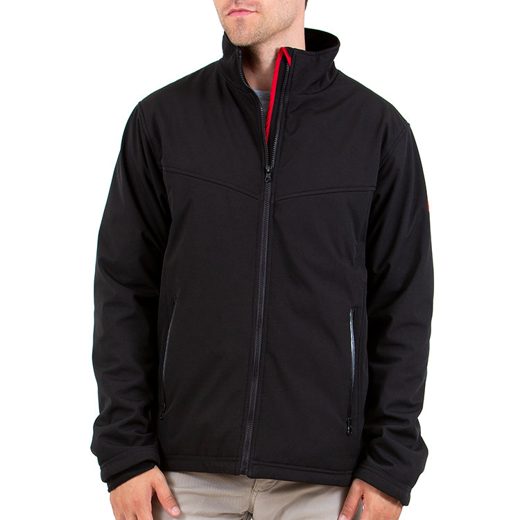 Battery Heated Soft Shell Jacket 5V (Black)