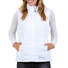 Load image into Gallery viewer, Heated Puffer Vest 5V (White) - FINAL SALE