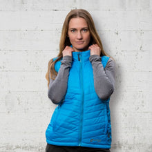 Load image into Gallery viewer, Heated Puffer Vest 5V (Blue) - FINAL SALE