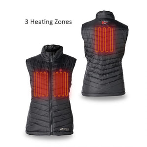 Heated Puffer Vest 5V (Black) - FINAL SALE