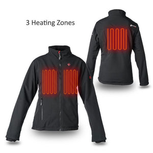 Heated Soft Shell Jacket 5V (Black) - FINAL SALE