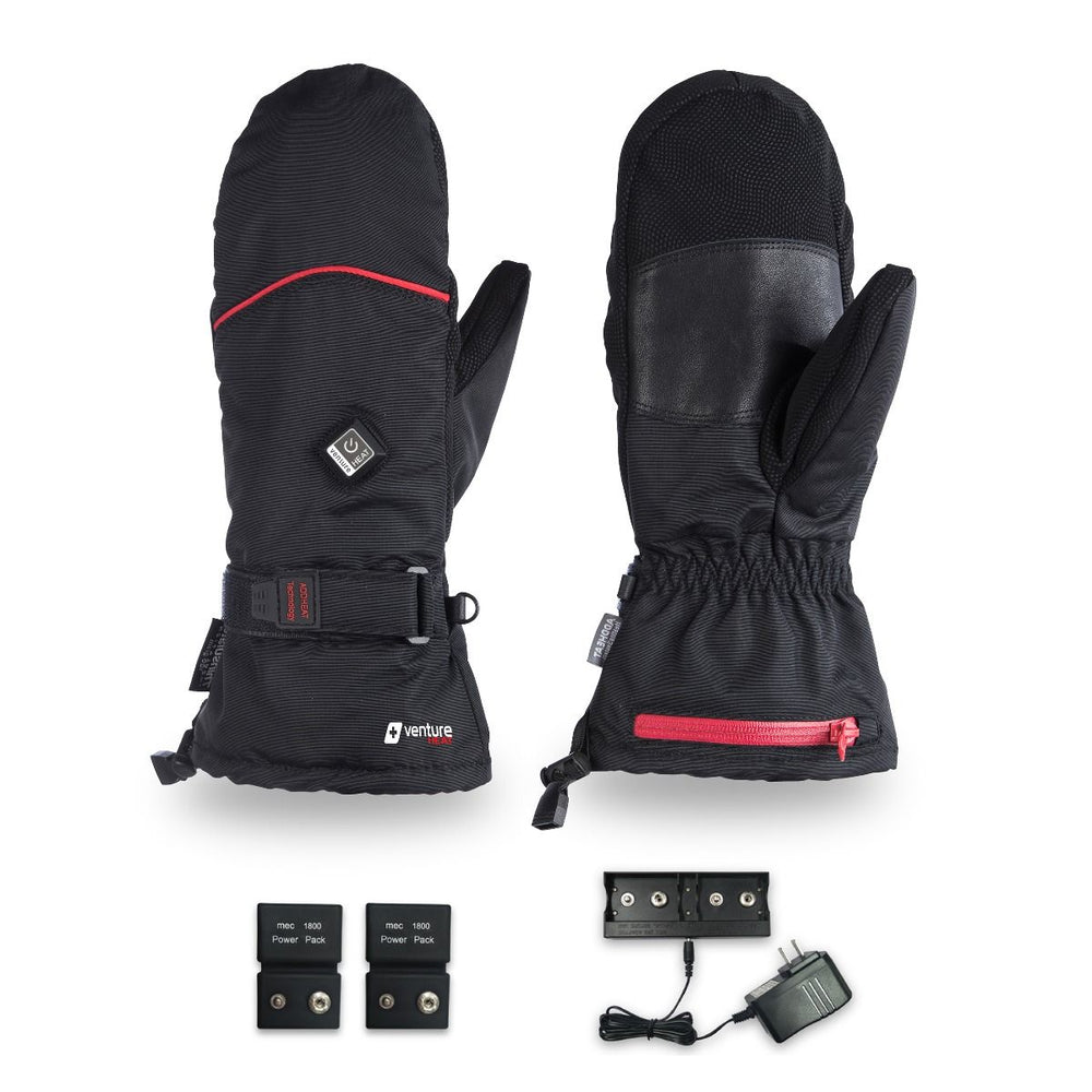 Battery Heated Mittens for Snow, Ski, Snowboarding - FINAL SALE