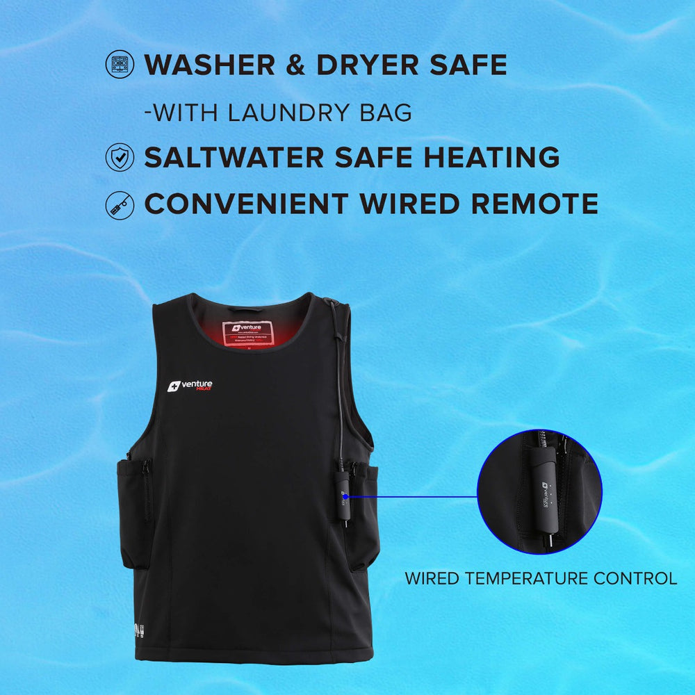 20W WAVE -  Waterproof Heated Surfing Undersuit