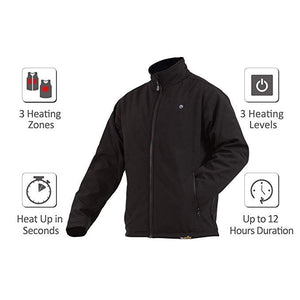 Load image into Gallery viewer, Men's Delspring Battery Heated Soft Shell Jacket 5V - FINAL SALE