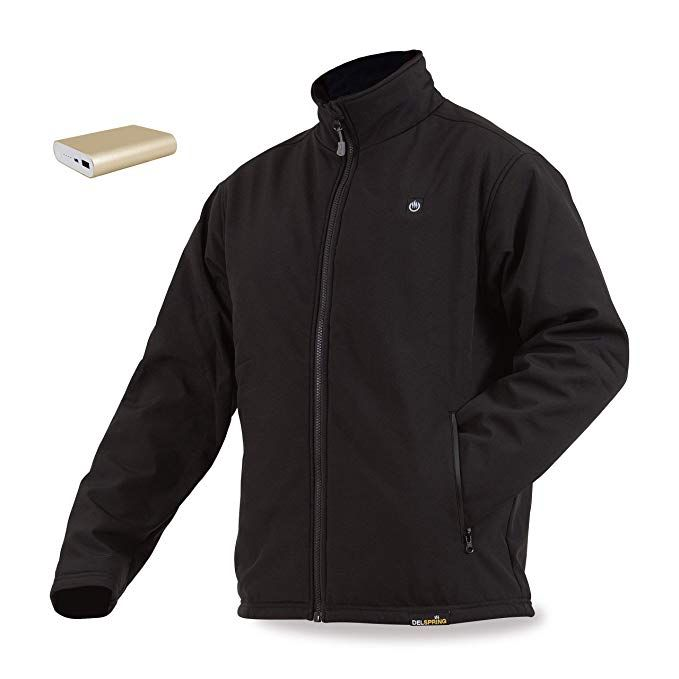 Men's Delspring Battery Heated Soft Shell Jacket 5V - FINAL SALE