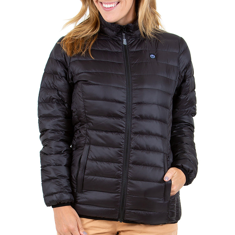 Delspring Heated Down Jacket 5V (Black) - FINAL SALE