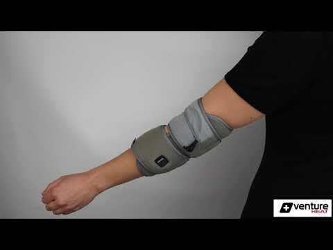 Load and play video in Gallery viewer, Infrared Heated Elbow Pain Relief Wrap