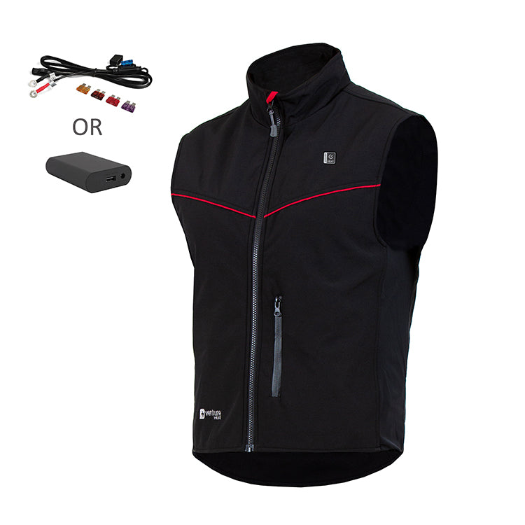 Motorcycle Duo Hybrid Heated Vest - 1.25 AMP