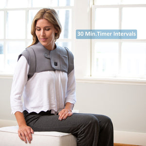 Infrared Heated Neck & Shoulder Pain Relief Wrap