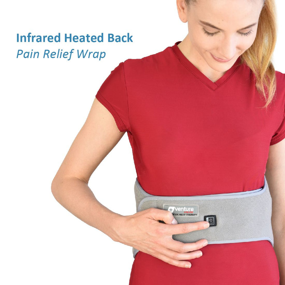 Infrared Heat Therapy Pain Relief Back Wrap