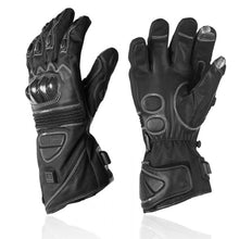 Load image into Gallery viewer, Motorcycle Heated Carbon Gloves
