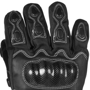 Motorcycle Heated Carbon Gloves