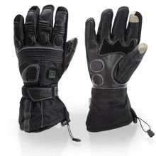 Load image into Gallery viewer, Touring Motorcycle Heated Gloves with Padded Protection
