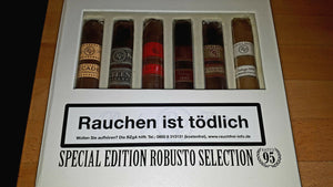 "Rocky Patel - ""Special Edition Robusto Collection"" - 6 verschiedene Zigarren"