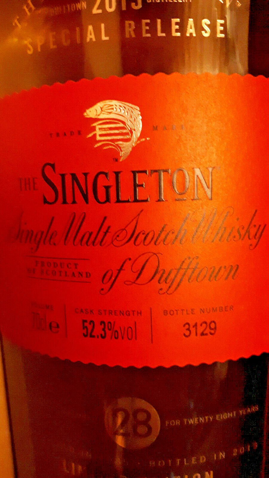 The Singleton of Dufftown - Special Release 2013 - 28 Jahre - limitiert - 0,7l