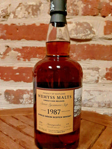Wemyss Invergordon 1987 Single Grain Scotch Whisky 31 Jahre 46% vol. - 0,7 Liter