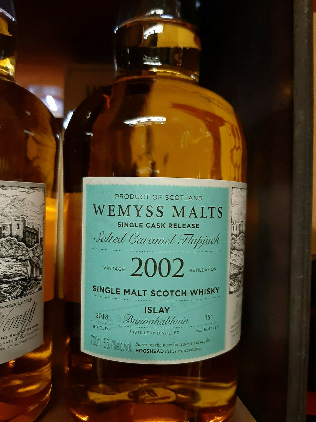 Wemyss Bunnahabhain 2002 Single Malt Scotch Whisky 16 Jahre 56,7 % vol. -  NEU
