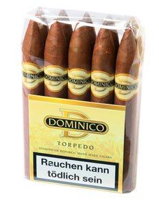 "DOMINICO - "" Bundle "" - 5 Formate - je 10 Zigarren - Dominikanische Republik"
