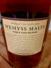 Laden Sie das Bild in den Galerie-Viewer, Wemyss Invergordon 1987 Single Grain Scotch Whisky 31 Jahre 46% vol. - 0,7 Liter