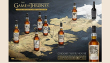 Laden Sie das Bild in den Galerie-Viewer, Game of Thrones - Single Malt Collection - komplette Serie - 8 Flaschen à 0,7l
