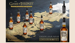 Game of Thrones - Single Malt Collection - komplette Serie - 8 Flaschen à 0,7l