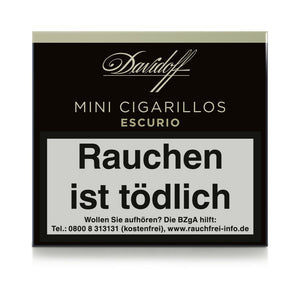 Davidoff Mini ESCURIO - 20 Cigarillos - Dominikanische Republik