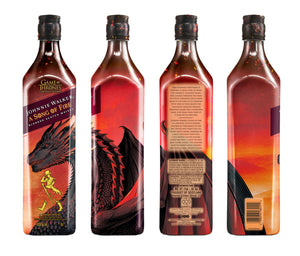 "Johnnie Walker - "" A song of fire "" - Blended Scotch Whisky - 0,7l-Flasche"