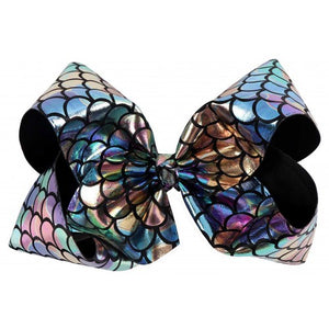 Big Mermaid Bow - Moonlight Black