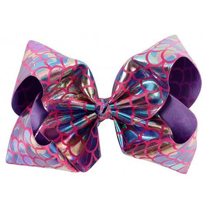 Big Mermaid Bow - Pink