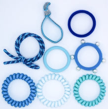 Load image into Gallery viewer, Hair Ties Color Pop Set - Aqua