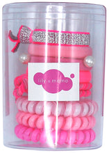 Load image into Gallery viewer, Hair Ties Color Pop Set - Pink