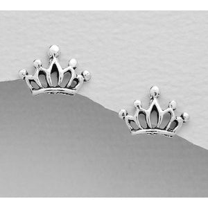 Little Princess Sterling Silver Earrings