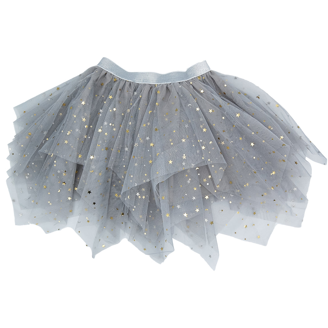 Long Layer Tutu - Gray