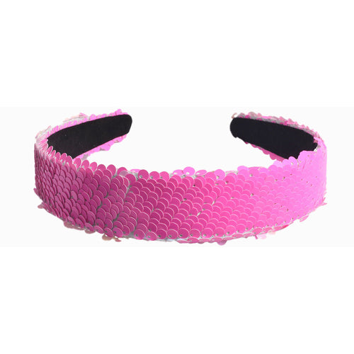 Sequin Headband - Bubblegum