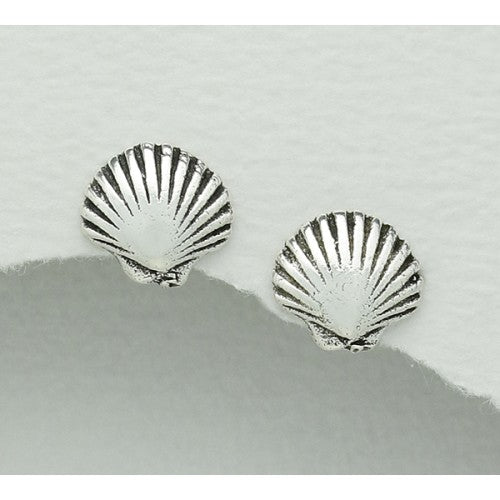Shell By The Shore Sterling Silver Earrings