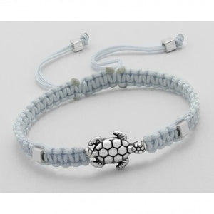 Turtle Adjustable Bracelet - Gray