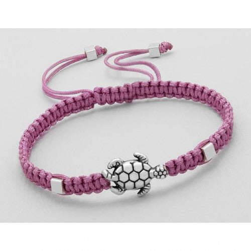 Turtle Adjustable Bracelet - Rose