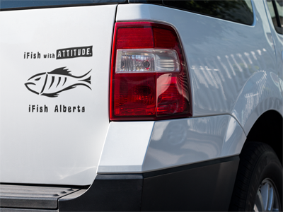 iFish Alberta Vinyl Decal