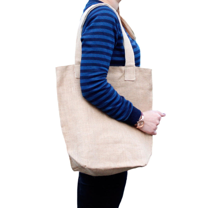 ECO Jute Bag - Blank Design