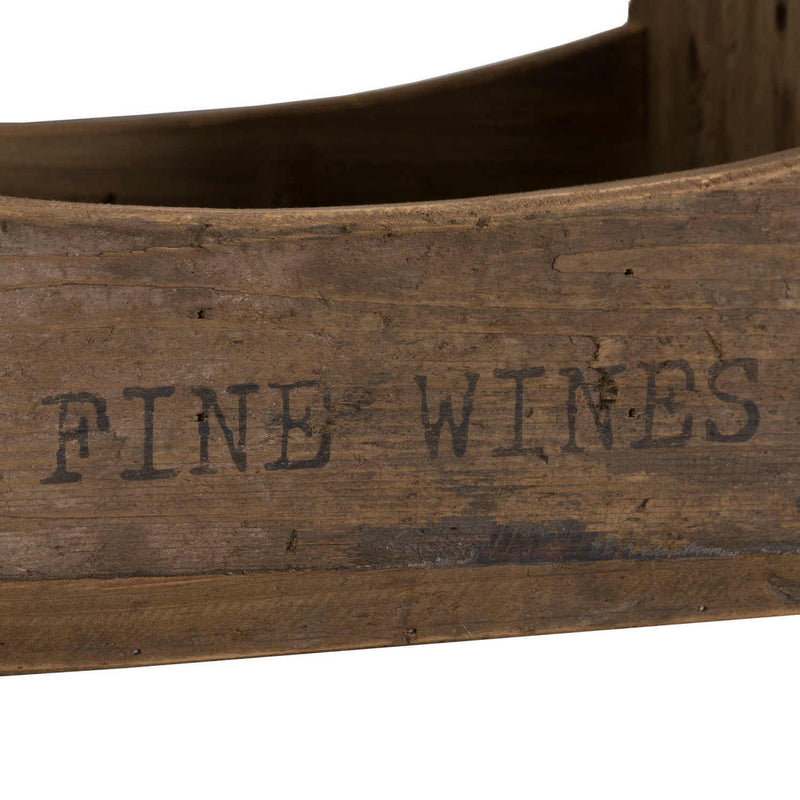 Fine Wine Bottle Crate