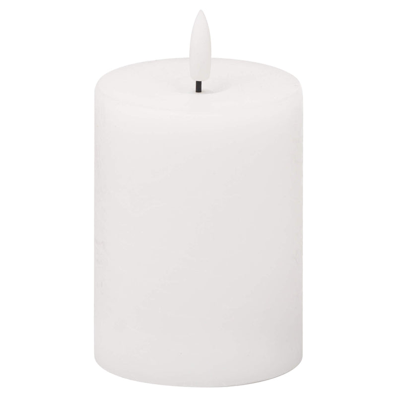 Luxe Collection Natural Glow White LED Candle
