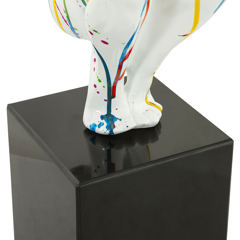 Multicolour Modern Diver Decorative Statue