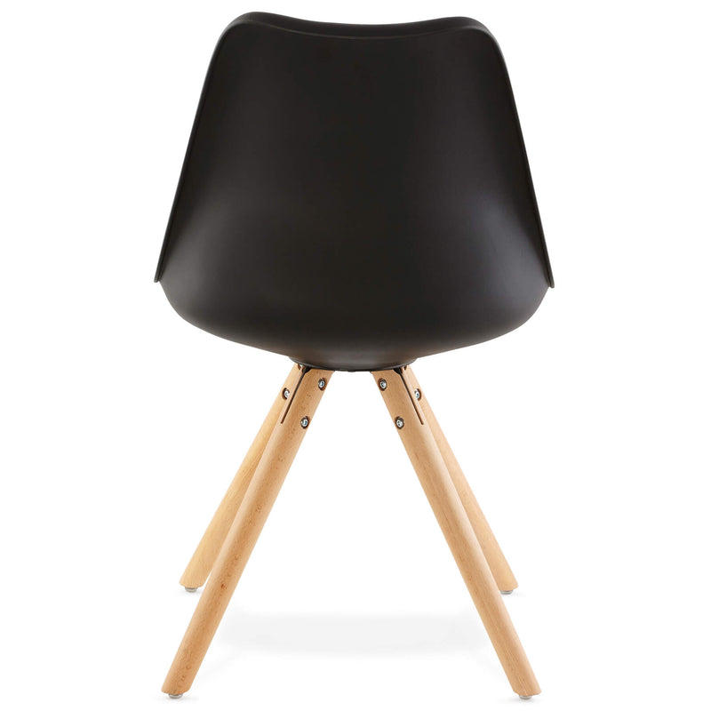 TOLIK Black Beechwood Chair