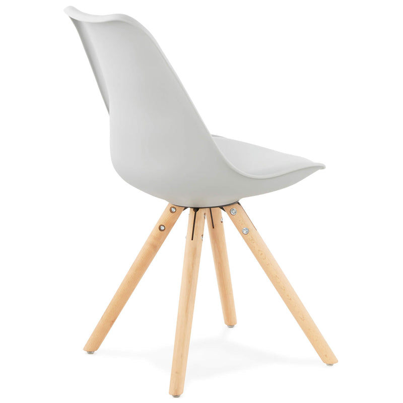 TOLIK Grey Beechwood Chair