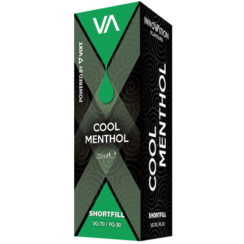 INNOVATION Cool Menthol Vape Juice has a menthol flavor with cooling effect.