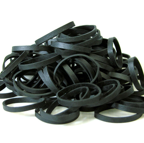 Thick Black Rubber Bands