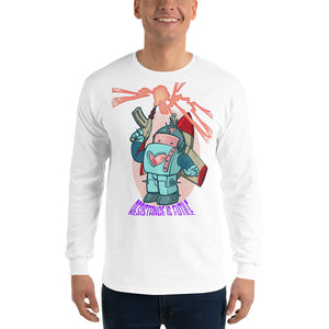 Men's Long Sleeve Resistance is Futile Shirt (2 color options)