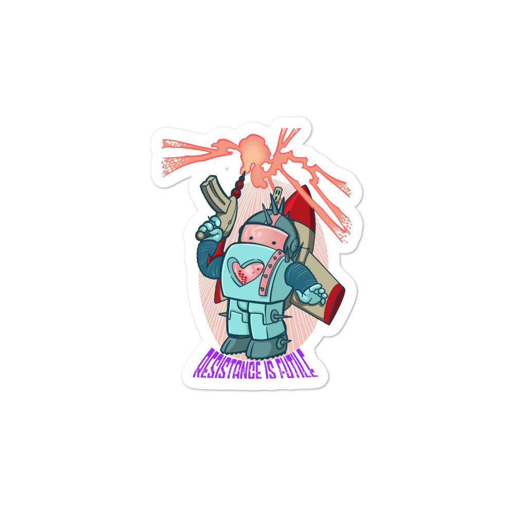 Resistance Is Futile Sticker